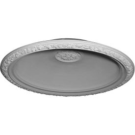 "Ekena Floral Recessed Mount Ceiling Dome DOME59FL, 59""OD x 47""ID x 11""D x 12"""