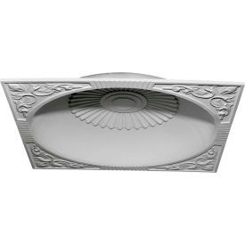 """Ekena Sussex Recessed Mount Ceiling Dome DOME59SU, 59""""OD x 51-1/8""""ID x 9""""D x 9-3/4"""""""
