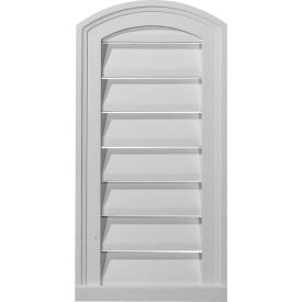 "Ekena Eyebrow Gable Vent Louver GVEY18X16D, 18""W x 16""H, Decorative"