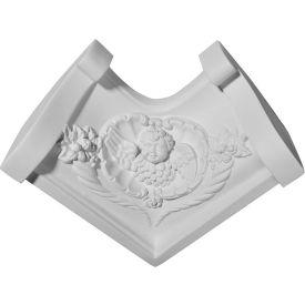 "Ekena Edinburgh Inside Corner For Moulding Profiles MIC03X03ED, 3-3/4""H x 3-3/4""D"