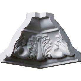 "Ekena Inside Corner For Moulding MLD03X03X04LE MIC03X03LE, 3-1/2""D x 3-1/8""H"