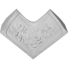 """Ekena Medway Inside Corner For Moulding Profiles MIC04X03ME, 3-3/4""""H x 4-1/8""""D"""