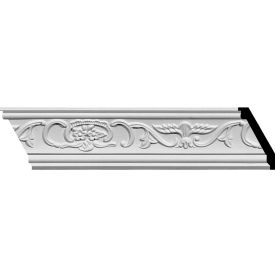 "Ekena Piedmont Crown Moulding MLD02X01X03PI, 2-3/4""H x 1-1/2""D x 3-1/8""F x 94-5/8""L"