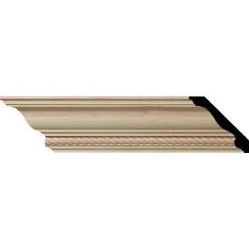 "Ekena Andrea Rope Carved Wood Crown Moulding MLD04X04X06ADAL, 4-3/4""H x 4-7/8""D x 6-3/4""F x 96""L"