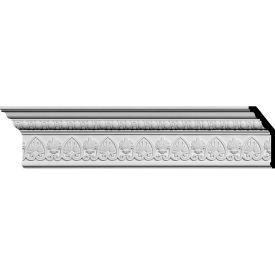 """Ekena Kirke Crown Moulding MLD06X02X07KI, 6-3/8""""H x 2-1/2""""D x 7""""F x 94-5/8""""L"""