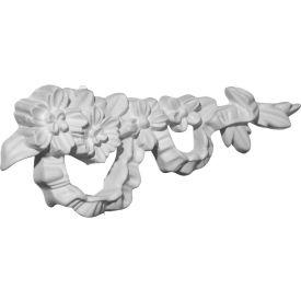 """Ekena Floral Ribbon Onlay Right ONL03X07X01FL-R, 7-3/4""""W x 3""""H x 7/8""""D"""