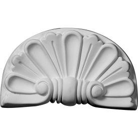 "Ekena Modern Shell Onlay ONL09X05X01SH, 9""W x 5-3/8""H x 1-1/8""D"
