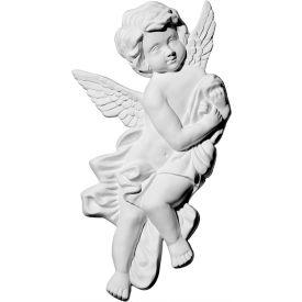 "Ekena Pompeii Angel Corner Onlay ONL10X09X01PO-L, 10-5/8""W x 9-3/8""H x 1-1/8""D"
