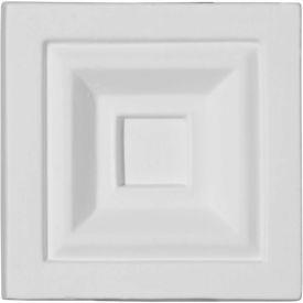 "Ekena Eris Plinth Block PB03X03X01ER, 3-3/4""W x 3-3/4""H x 1-1/8""D"