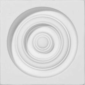 """Ekena Reece Plinth Block PB05X05X01RE, 5-3/8""""W x 5-3/8""""H x 1-3/4""""D"""
