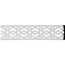 "Ekena Swindon Pierced Moulding PIR04X00SW, 4""H x 3/8""D x 96""L"