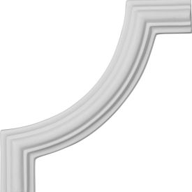"Ekena Large Classic Panel Moulding Corner PML05X05CL, 5-1/8""W x 5-1/8""H"