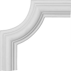 """Ekena Ashford Panel Moulding Corner PML06X06AS, 6-1/8""""W x 6-1/8""""H"""