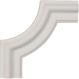"Ekena Seville Panel Moulding Corner PML06X06SE-2, 6""W x 6""H x 3/4""D"