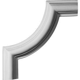 """Ekena Ashford II Panel Moulding Corner PML08X08AS-2, 8""""W x 8""""H"""