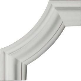 "Ekena Pompeii Panel Moulding Corner PML08X08PO, 8""W x 8""H x 3/4""D"