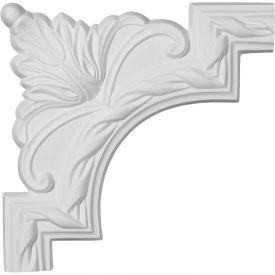 """Ekena Jackson French Ribbon Panel Moulding Corner PML09X09JA, 9""""W x 9""""H"""