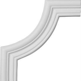 "Ekena Swindon Panel Moulding Corner PML09X09SW, 7-3/4""W x 7-3/4""H"