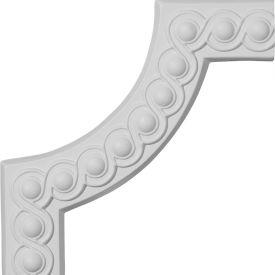"Ekena Foster Running Coin II Panel Moulding Corner PML10X10FO-2, 10-1/4""W x 10-1/4""H"