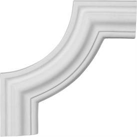 "Ekena Pompeii Panel Moulding Corner PML10X10PM-2, 10-1/2""W x 10-1/2""H"
