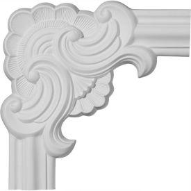 "Ekena Pompeii Panel Moulding Corner PML10X10PM, 10-5/8""W x 10-5/8""H"