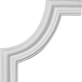 "Ekena Seville Panel Moulding Corner PML10X10SE, 10-1/2""W x 10-1/2""H"