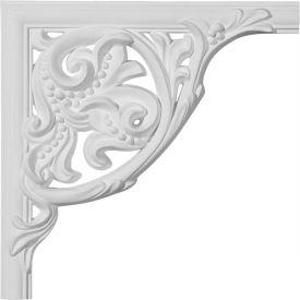"""Ekena Kepler Panel Moulding Corner PML11X11KP, 11""""W x 11""""H x 1""""D"""