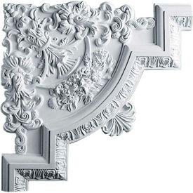 "Ekena Emery Panel Moulding Corner PML15X15EM, 15-3/4""W x 15-3/4""H x 1-1/8""D"