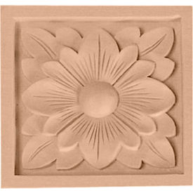 "Ekena Medium Dogwood Flower Rosette ROS03X03DGMA, 3-1/2""W x 3-1/2""H x 3/4""D"