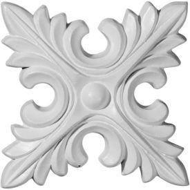 "Ekena Lanarkshire Rosette ROS04X04X00LA, 5-3/4""W x 5-3/4""H x 5/8""D"