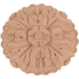 "Ekena Small Kent Floral Rosette ROS04X04X01KEMA, 4-1/2""W x 4-1/2""H x 5/8""D"
