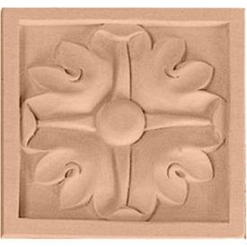 "Ekena Large Edinburgh Rosette ROS05X05X01EDMA, 5-1/8""W x 5-1/8""H x 7/8""D"