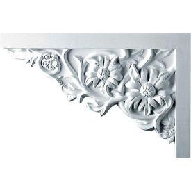 "Ekena Floral Large Stair Bracket SB11X07FL-L, 11-3/4""W x 7-7/8""H x 3/4""D"