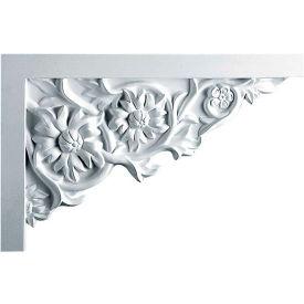 "Ekena Floral Large Stair Bracket SB11X07FL-R, 11-3/4""W x 7-7/8""H x 3/4""D"
