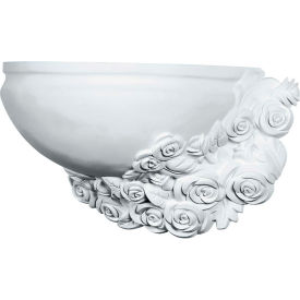 "Ekena Rose Right Wall Sconce SCO17X10X08RO-R, 17-3/4""W x 10-1/4""H x 8-1/4""D"