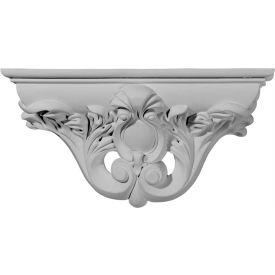 "Ekena Hillsborough Decorative Shelf SH13X06X03HI, 13-1/8""W x 3-3/4""D x 6-5/8""H"