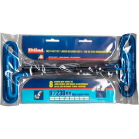 Eklind 55198 2-10MM 8Pc. Cushion Grip T-Loop Handle Metric Hex Key Set