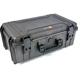 "Elephant® Elite Watertight Case With Pre-Cubed Foam EL2007 - 22-5/8""x14-3/16""x8-7/8"""