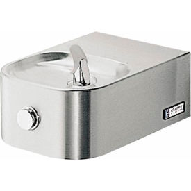 Elkay Soft Sides ADA Water Fountain, Stainless Steel, VR Bubbler, Wall Hung, EDFPVR214C