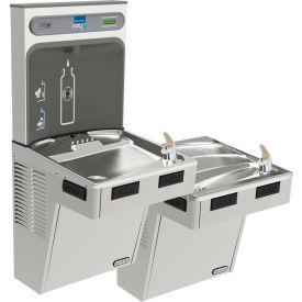 Elkay EMABFTL8WSSK EZH2O Water Bottle Refilling Station W/Bi-Level ADA Cooler, Refrig, Stainless