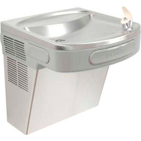 Elkay ADA Barrier Free Water Cooler, Stainless Steel, Wall Hung, 115V, 60Hz, 5 Amps, EZS8S