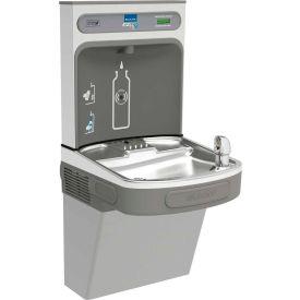 Elkay EZS8WSVRLK EZH2O Water Bottle Refilling Station w/Single ADA EZ Cooler, Refrig., Light Gray