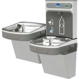 Elkay EZSTLDDWSVRLK EZH2O Water Bottle Refilling Station, Rev Bi-Level, Non Refrig,VR Bub,Light Gray