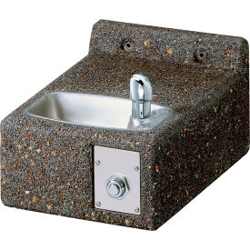 drinking fountains outdoor elkay stone outdoor drinking fountain