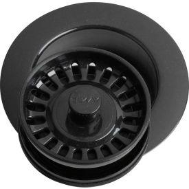 Elkay LKD35BK, Black Disposal Flange w/Removable Basket Strainer For Kitchen Sink Disposer by