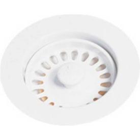 Elkay LKD35GW, Glacier White Disposal Flange w/Removable Basket Strainer For Kitchen Sink... by