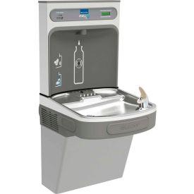 Elkay LZSDWSLK EZH2O Water Bottle Refilling Station, Single, Non Refrigerated, Filtered, Light Gray