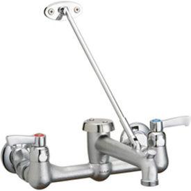 """Elkay, Wall Mounted 8"""" Center Service Faucet W/Bucket Hook, LKB940C"""