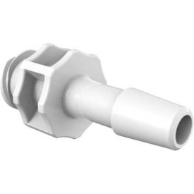 """Large Bore Female Luer, 1/4"""" Barb, Crystalvu Antimicrobial"""