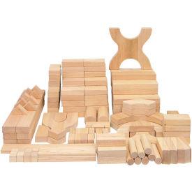 ECR4Kids® 170 Pc. Hardwood Building Block Set